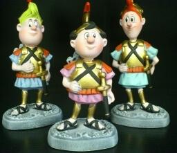 Digedags, Figuren aus Porzellan