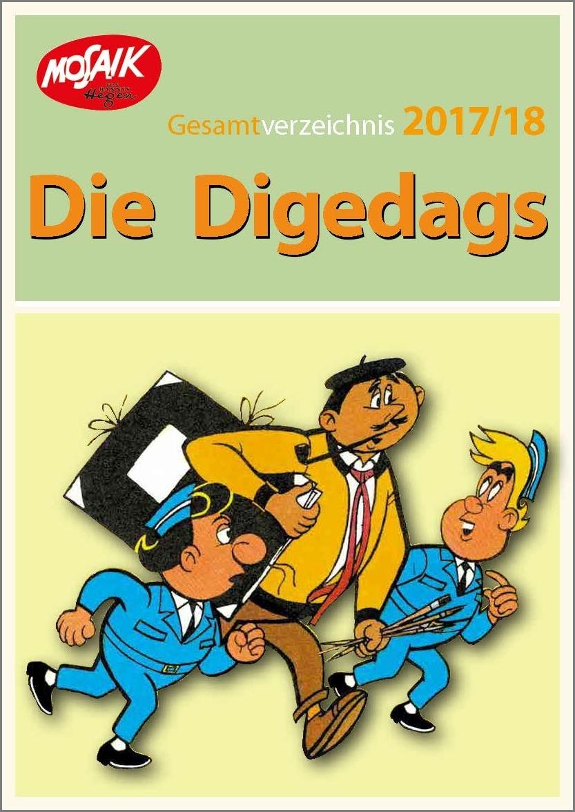 Digedags Gesamtverzeichnis 2017/2018
