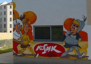 Digedags Graffiti in Leipzig, Rabet