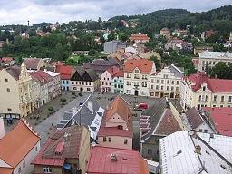 Ortsansicht Böhmisch-Kamnitz (Wikipedia, Radek Bartoš)