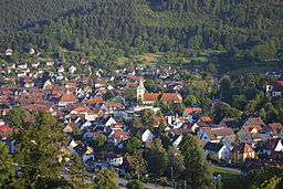 Ortsansicht Murrhardt (Wikipedia, Stefan Bossow)