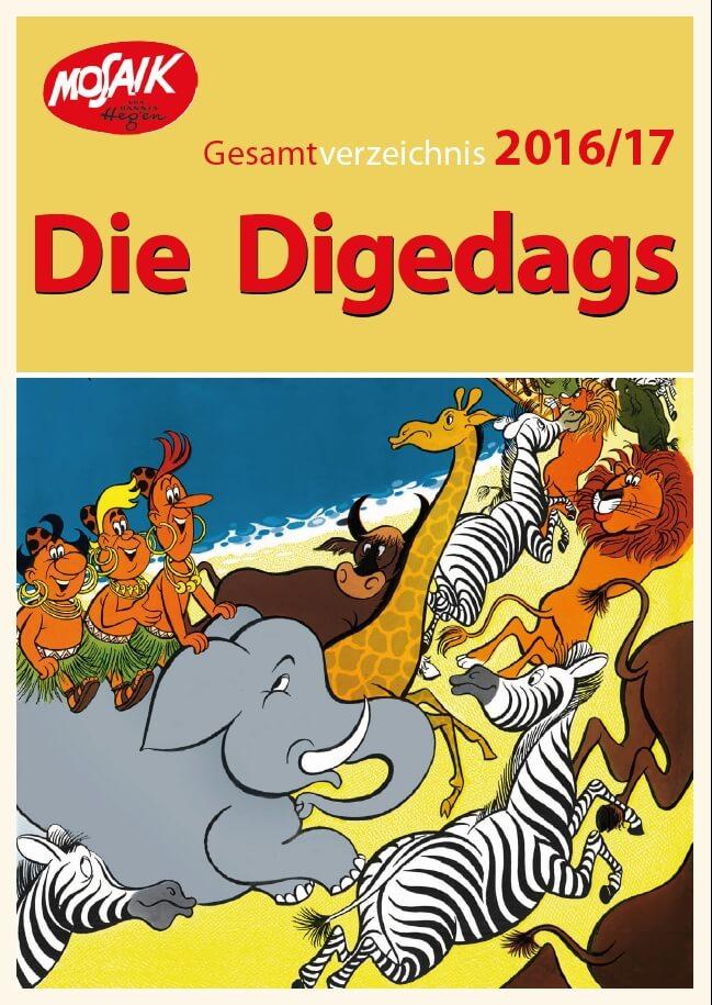 Digedags Gesamtverzeichnis 2016/2017